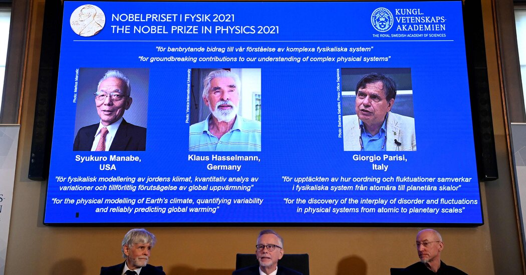 Nobel Prize in Physics Honors Work on Climate Change