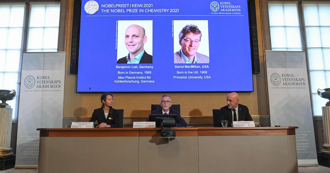 Nobel Prize in Chemistry Awarded for Tool to Build Molecules